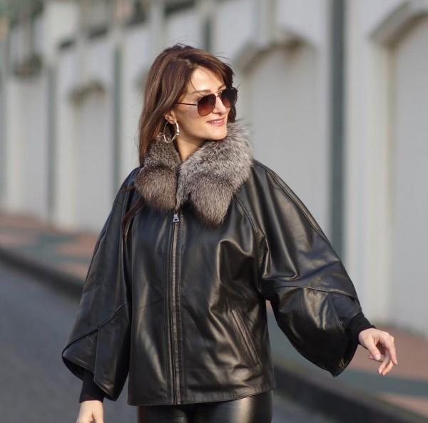 Lederjacke für Damen Milano